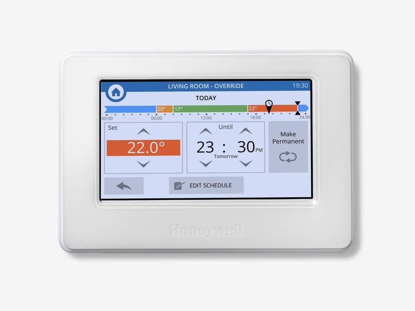 Control system for air conditioning system EVOHOME WI-FI - Honeywell - CentraLine