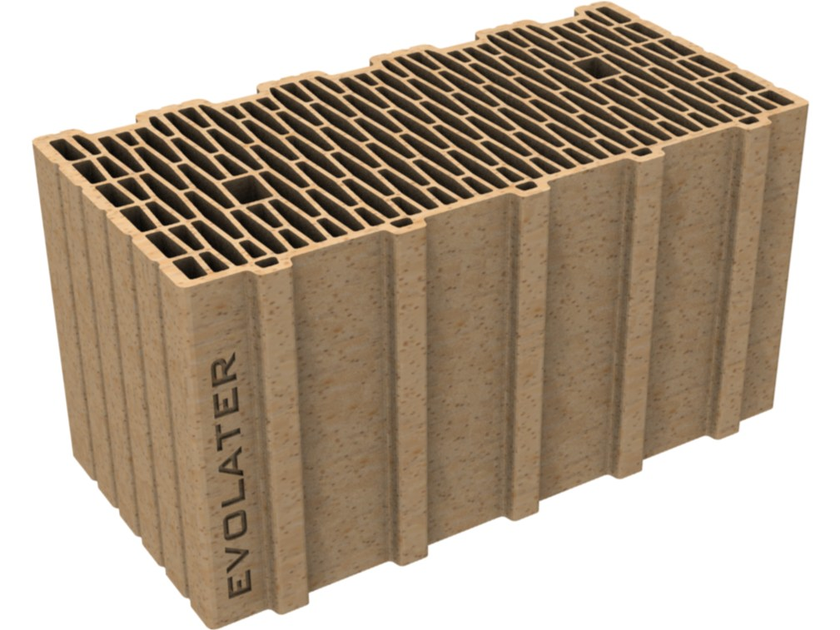 External masonry clay block EVOLATER NZEB 50x25x25 - Fornaci DCB
