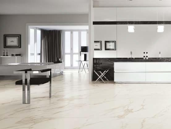 Pavimento rivestimento in gres laminato effetto marmo for Gres effetto marmo