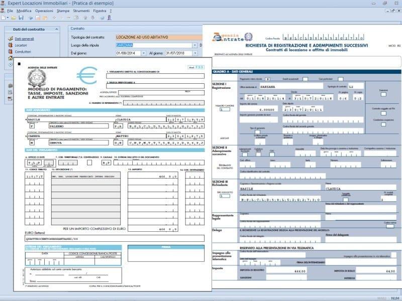 Gestione completa contratti di locazione immobiliari for Contratto cedolare secca modello