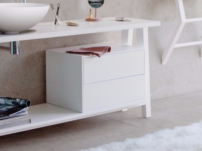 Ash bathroom cabinet with drawers EXPO | Bathroom cabinet with drawers by Graff Europe West