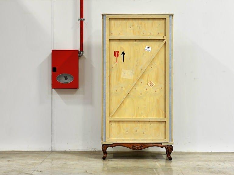 Wooden wardrobe EXPORT COMÒ   Wardrobe - Seletti