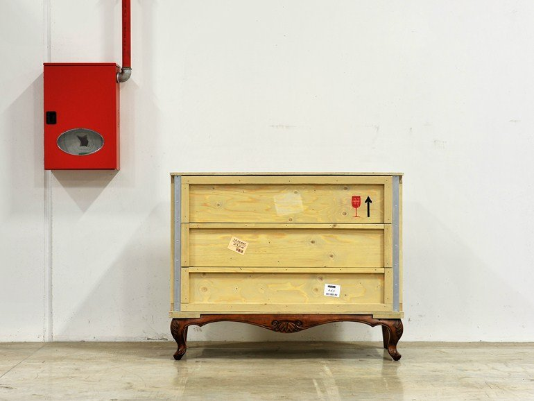 Wooden chest of drawers EXPORT COMÒ | Chest of drawers - Seletti
