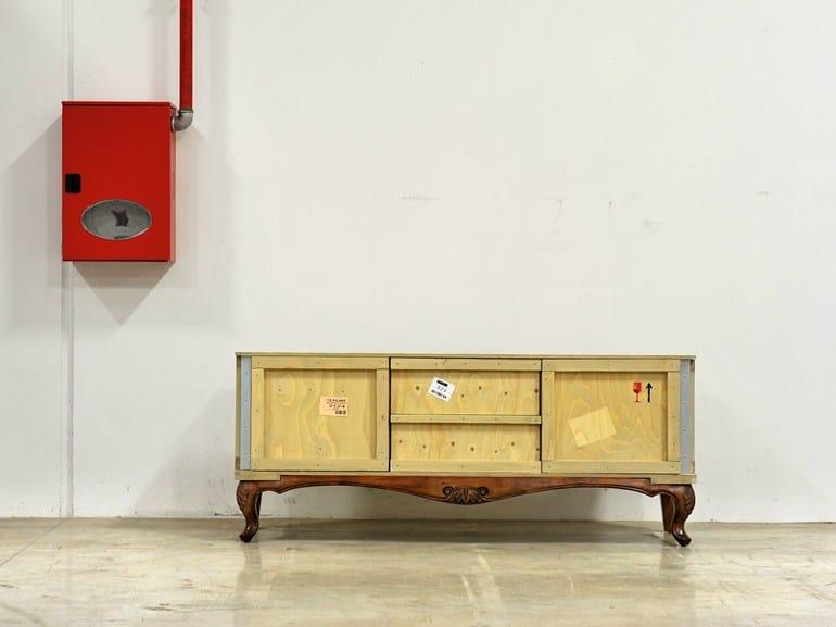 Wooden sideboard EXPORT COMÒ | Sideboard - Seletti