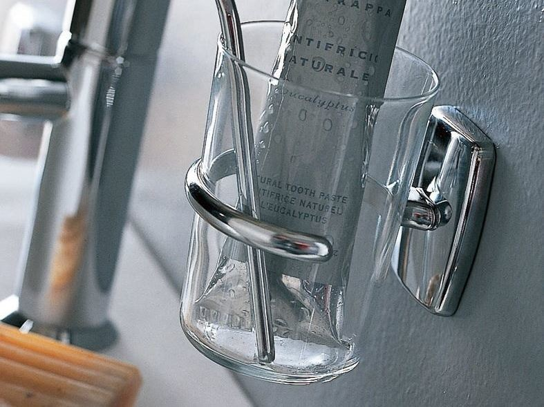 Glass toothbrush holder EXPORT | Toothbrush holder - INDA®