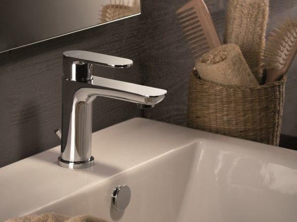 Miscelatore per lavabo da piano monoforo con piletta EXTRO | Miscelatore per lavabo da piano - NEWFORM