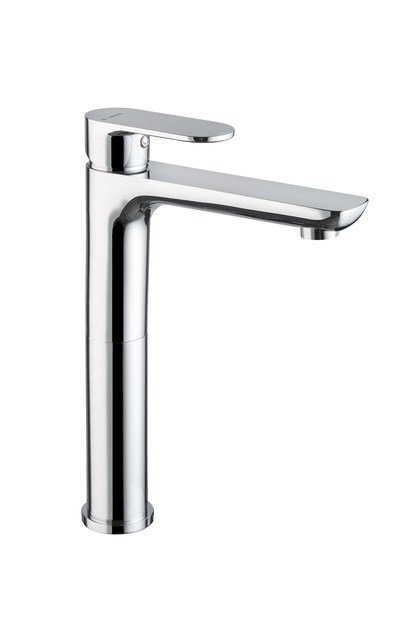 Miscelatore per lavabo cromo da piano senza scarico EXTRO | Miscelatore per lavabo da piano - NEWFORM