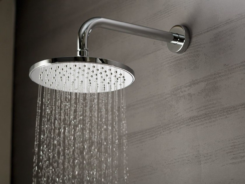 Wall-mounted overhead shower with arm EXTRO | Overhead shower - NEWFORM