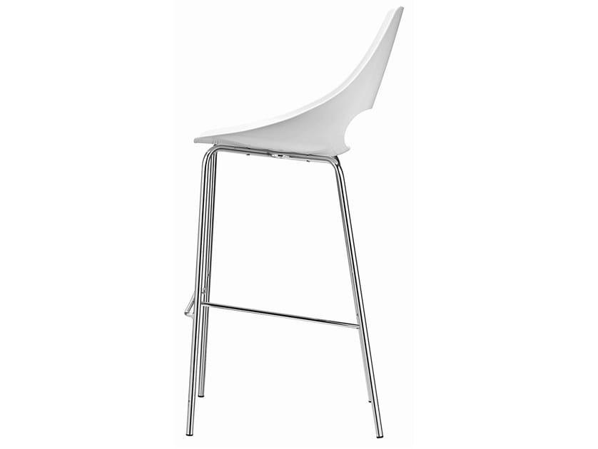 High technopolymer stool Echo 332 - Metalmobil