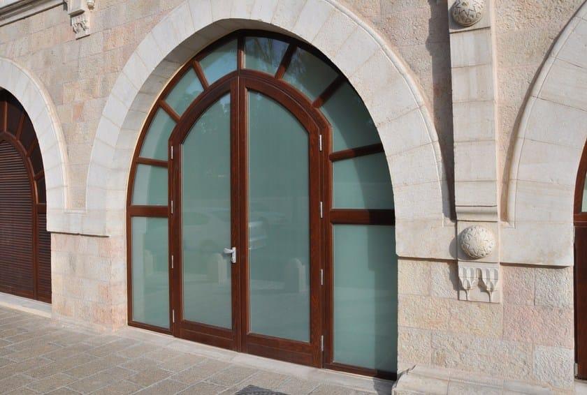 porta d'ingresso in legno massello su misura portoni primo ... - Porta Dingresso In Legno Massello