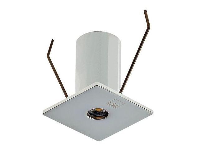 LED square recessed spotlight Eyes 1.8 - L&L Luce&Light