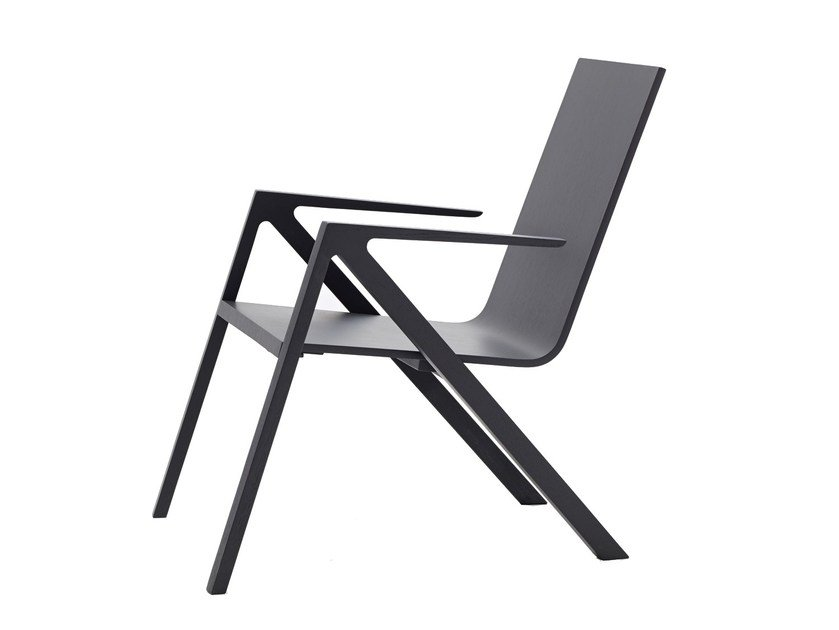 Wooden chair with armrests FÉLIX | Chair - PER/USE