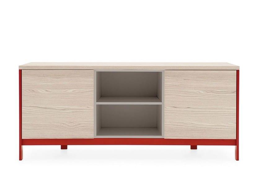 Sideboard with doors FACTORY   Sideboard - Calligaris