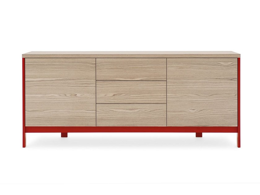Sideboard with doors FACTORY | Sideboard with drawers - Calligaris