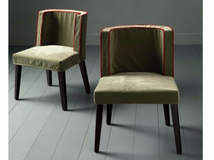 Upholstered chair with removable cover FAMILY CHAIR MIDDLE by Casamilano