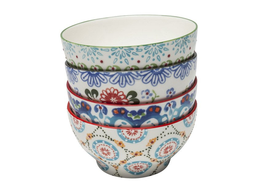 Porcelain stoneware serving bowl FANTASIA - KARE-DESIGN
