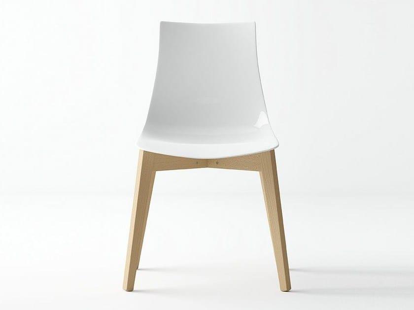 Plastic restaurant chair FANTASY | Chair - CANCIO