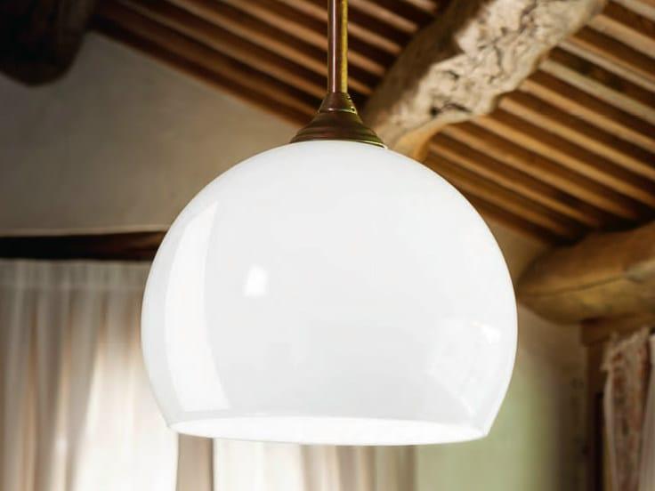 Glass pendant lamp FARMACIA | Pendant lamp by Aldo Bernardi