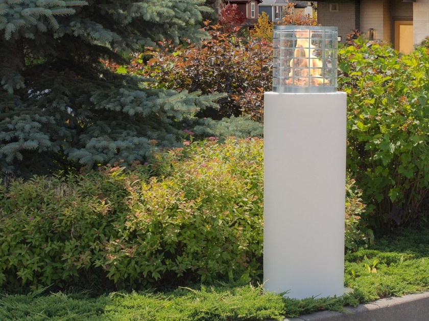 Outdoor freestanding bioethanol fireplace FARO COMMERCE - Planika