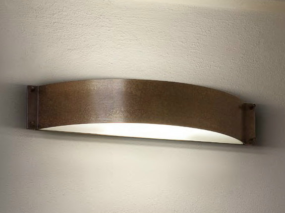 Direct-indirect light wall light FASHION | Copper wall light - Aldo Bernardi