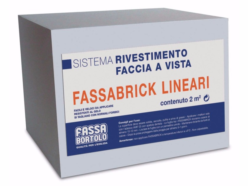 Fair faced clay brick FASSABRICK by FASSA