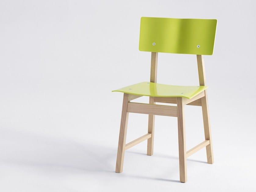 Wooden chair FAST CASUAL CHAIR | Chair - Planbureau