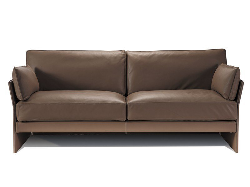 3 seater leather sofa FAUBOURG | 3 seater sofa - Canapés Duvivier