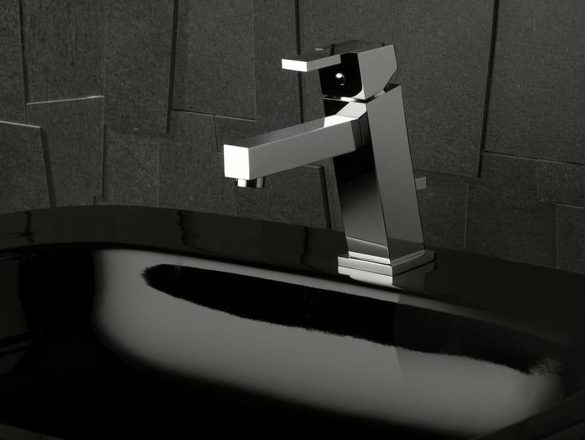 Washbasin tap with automatic pop-up waste FEBO Q | Washbasin mixer - Signorini Rubinetterie