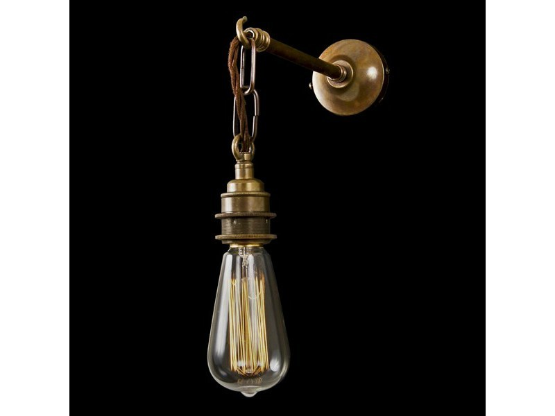 Direct light handmade wall lamp FEND PRISMATIC WALL LIGHT - Mullan Lighting