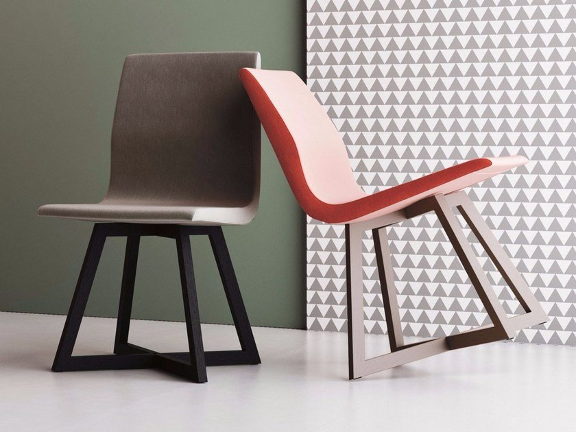 Upholstered fabric restaurant chair FENG SHUI | Chair by Imperial Line