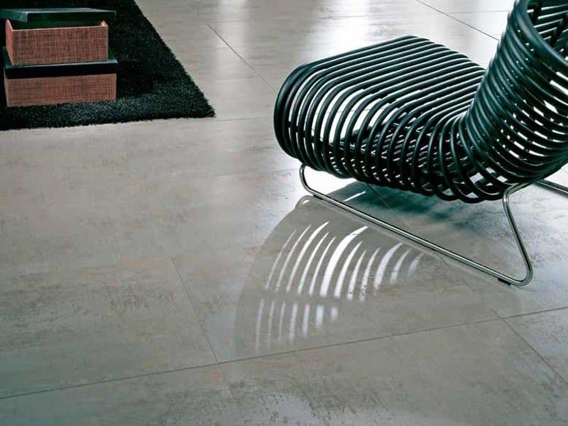 Indoor/outdoor porcelain stoneware flooring FERROKER | Flooring - Venis