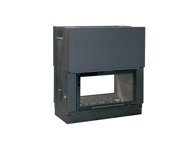 Double-sided Fireplace insert FH1200DF - Axis