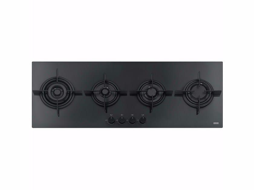 Piano cottura a gas da incasso in cristallo FHCR 1204 | Piano cottura in cristallo - FRANKE