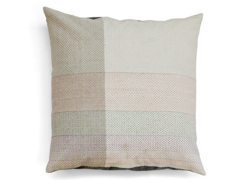 Square cotton cushion FIBONACCI 55 x 55 by Vij5