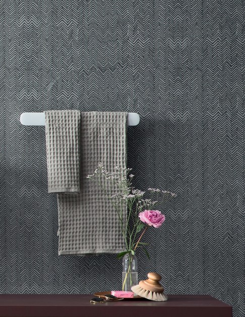 Carta da parati impermeabile per bagno fibra rexa design for Carta parati impermeabile