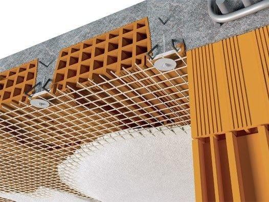 FRP reinforcing mesh against floor degradation FIBREBUILD | Floor degradation by FIBRE NET