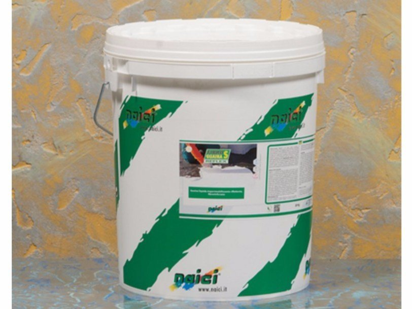 Liquid waterproofing membrane FIBROGUAINA-S REFLEX - NAICI ITALIA