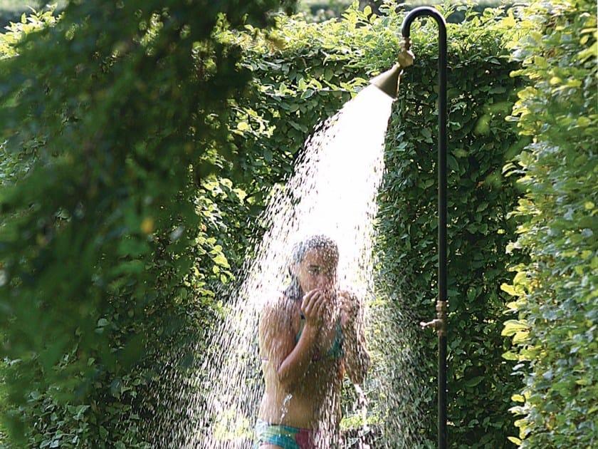 Steel outdoor shower FIELDSHOW'R by TRADEWINDS