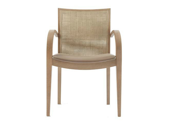 Upholstered chair with armrests FIESTA | Chair with armrests by Potocco