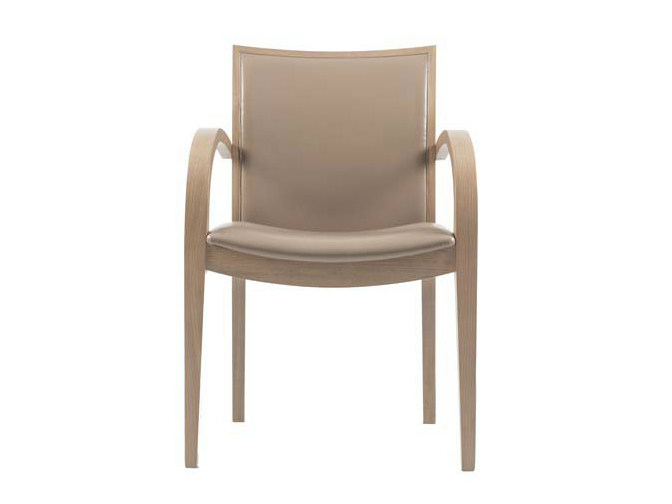Upholstered chair with armrests FIESTA | Chair with armrests - Potocco