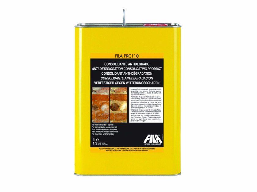 Anti-deterioration consolidating product FILA PRC110 - Fila Industria Chimica