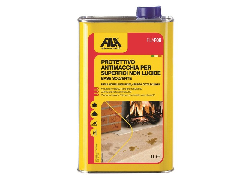 Oil proofing for terracotta and natural stone FILAFOB by Fila