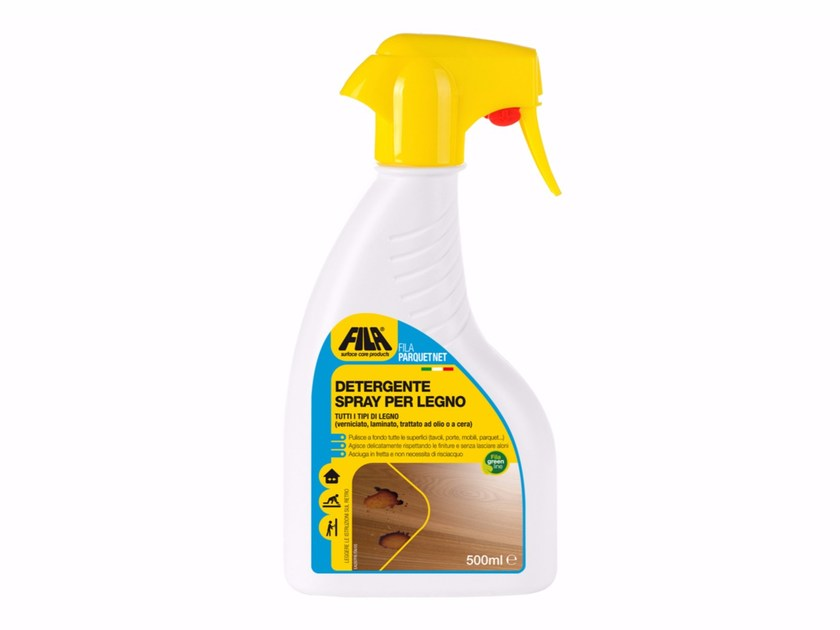 Spray detergent for wood FILAPARQUET NET by Fila