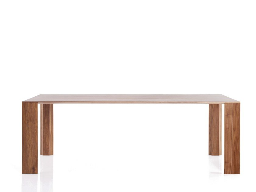 Lacquered rectangular dining table FILE | Dining table by more