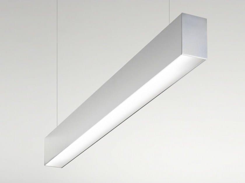 Extruded aluminium pendant lamp FILE | Pendant lamp by LUCIFERO'S