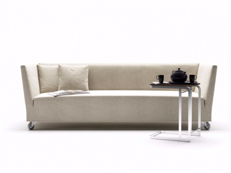 Fabric sofa with removable cover FILIBERTO - FLEXFORM