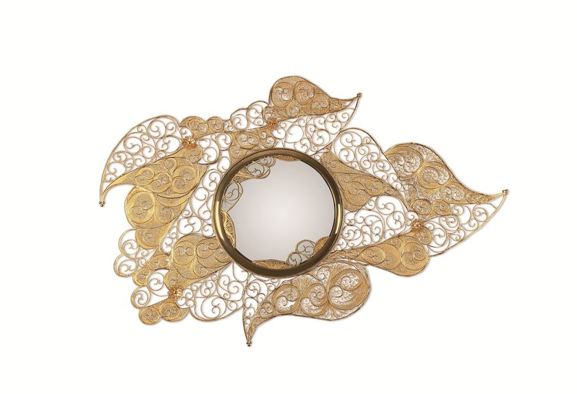 The Filigree Mirror resorts to one of the oldest jewellery making techniques known.