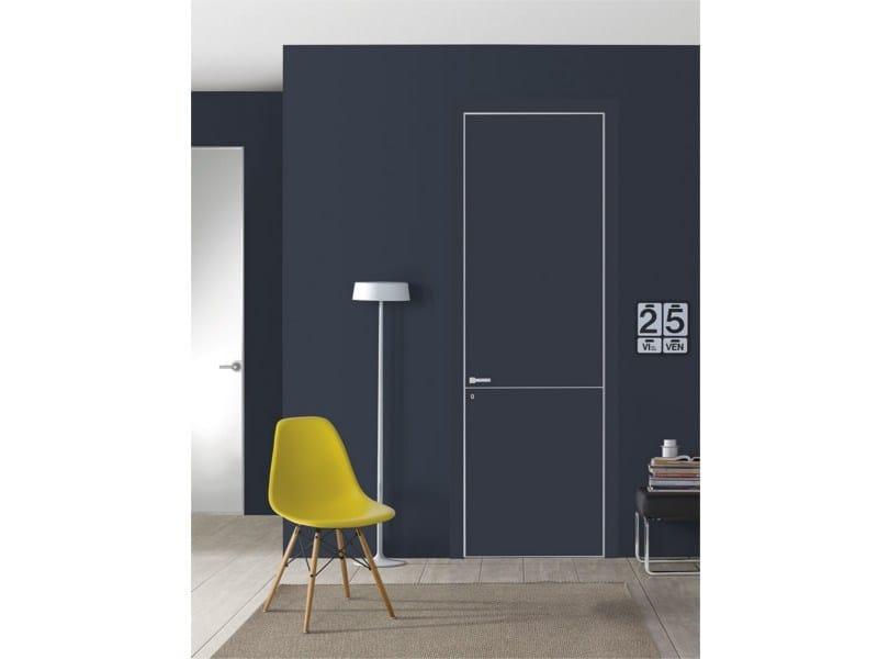 Flush-fitting lacquered door FILO A FILO - FOR DECOR - PORTEK by LEGNOFORM