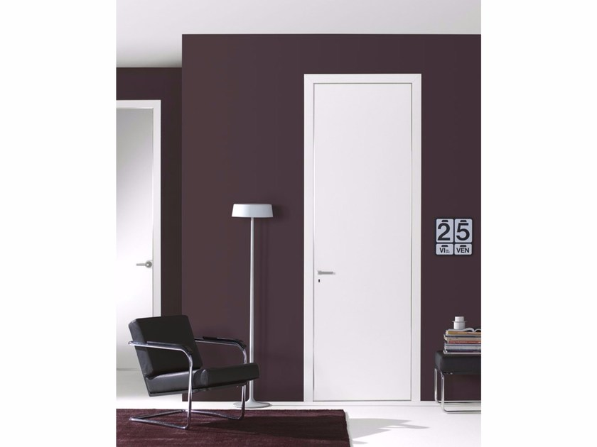 Door with concealed hinges FILO A FILO - LACQUERED - PORTEK by LEGNOFORM