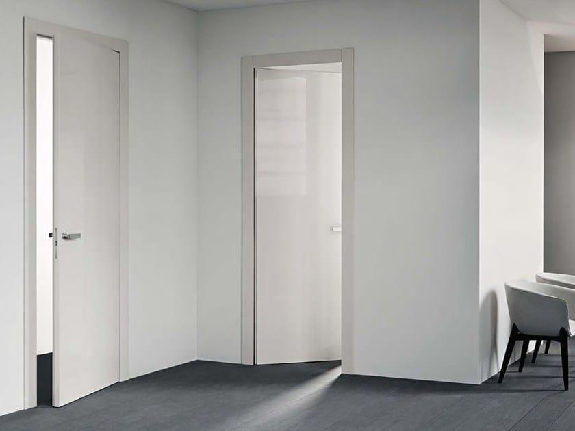 Hinged honeycomb door with concealed hinges FILO - Lualdi